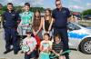 Brzozów -Policjanci na pikniku rodzinnym w Golcowej