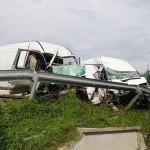 Wypadek w Humniskach – czołowe zderzenie busów