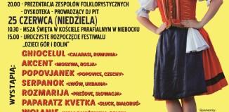 """Brzozów -XIII Międzynarodowy Festiwal """"Dzieci Gór i Dolin"""""""